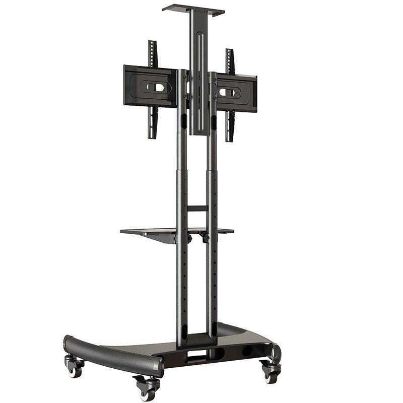 AVA1500 noir - Pied à roulettes réglable pour TV LCD / LED / plasma