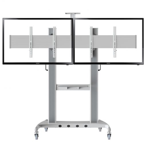 AVT1800-60-2A Professional Mobile TV Cart double screen