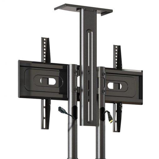 Pied à roulettes réglable universel AVA1500TP pour téléviseurs lcd led 81-165 cm
