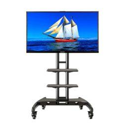 ava tp pied deux tablettes televiseur de TV tele