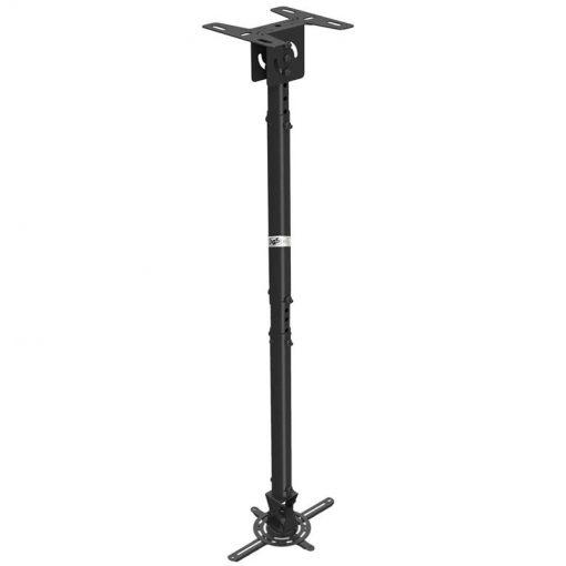 T718-4 noir - Support plafond universel pour vidéoprojecteur