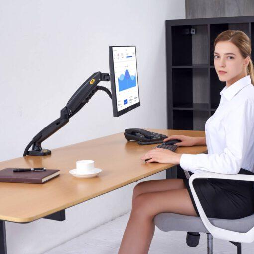 f80 support bureau bras ecran PC